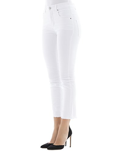 Isabel Marant Pantaloni Donna PA072917A021E20WH Cotone Bianco
