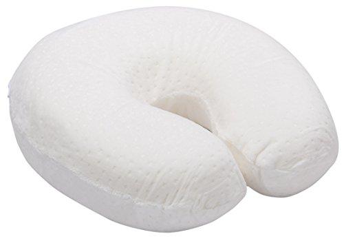 Pikolin Home - Neck viscoelastic travel pillow, 28 x 28 cm, natural colour