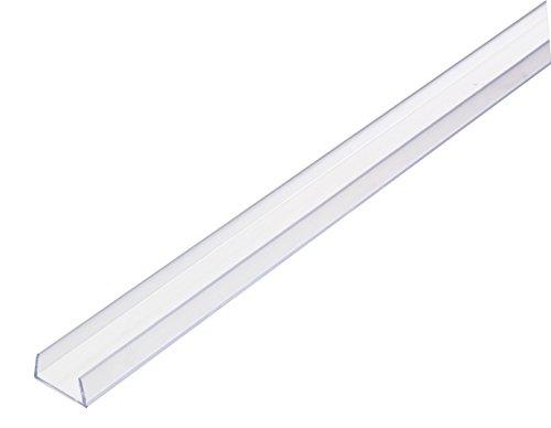 -TRACK-3 Hybrid 2 LED Tape Rope Light Mounting Track, 3-feet, Plastic ()