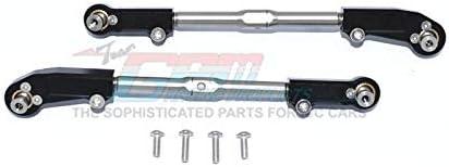 Black 1PR GPM Arrma 1//8 KRATON//Outcast//Notorious//Talion 6S BLX Aluminum Rear Lower ARMS