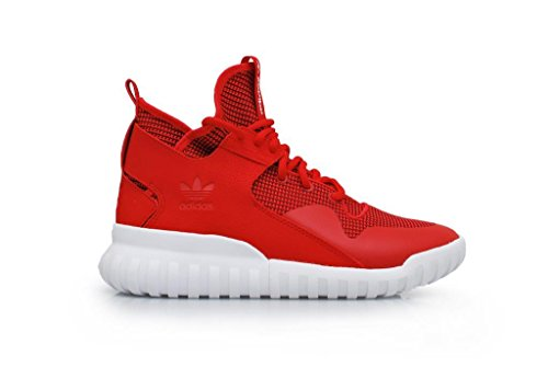 adidas - Tubular X Shoes - Collegiate Red - 48