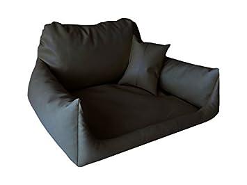Artur Soja Nemo Perros sofá Cama para Perros Dormir Espacio Cesta Perros Cojín de Cuero sintético Tallas: S - XL: Amazon.es: Productos para mascotas