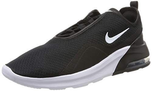 Nike Men's Air Max Motion 2 Running Shoes (11, Black/White)