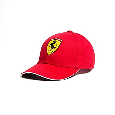 4d1d5bd2b61 Image Unavailable. Image not available for. Color  Ferrari Red Rookies  Young Kids Classic Hat ...