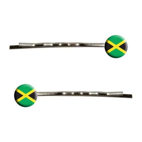 jamaica flag bobby pins barrettes