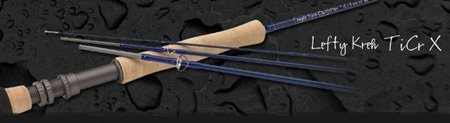 (Temple Fork Outfitters TiCr X Series Fly Rods Model: TF 05 90 4 X (9' 0