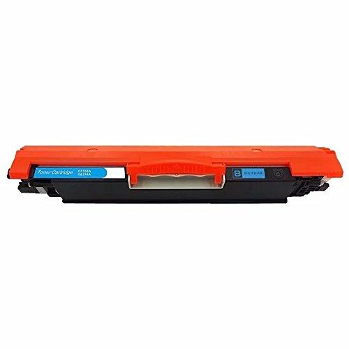 Bandar 126A Toner Cartridge CE311A Cyan for LaserJet TopShot Pro M275 LaserJet Pro 100 MFP M175a LaserJet 100 MFP M175a CP1025nw M275 LaserJet Pro TopShot Pro M275 LaserJet Pro (126a Laser Toner Cartridge)