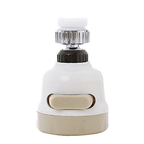 Gosear Agua Ahorro Grifo aireador Boquilla Ajustable Grifo Ducha Filtro rociador surtidor para Cocina Ba?o