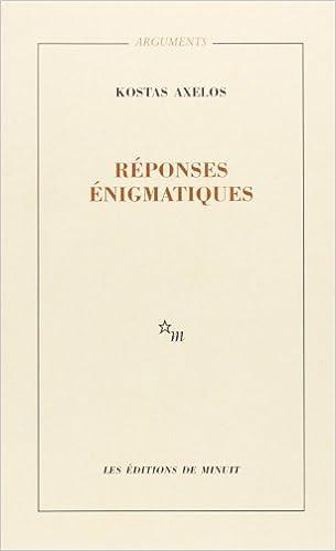 En ligne Réponses énigmatiques : Failles, Percée pdf ebook