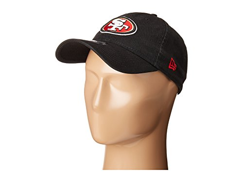 - New Era Men's San Francisco 49ers 9TWENTY Core Black Hat