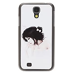 JOE Fashion Designed Beautiful Lady Pattern Protevtive Hard Back Case for Samsung Galaxy S4 I9500