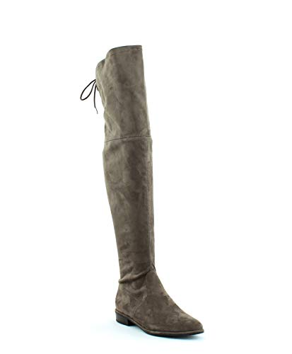 Marc Fisher Womens Humor 2 Faux Suede Over-The-Knee Boots Taupe 7 Medium (B,M)