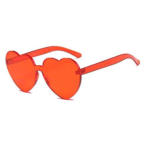 Tono De De Gafas Solamor Mujer En Sol Sol 6 Sin De Tonos Limotai Marco Siamés Amarillo Gafas Forma Rosa Colorido Lente 5 Corazón Gafas Transparente De Rojo qwfn6HUX