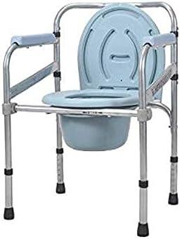 MMPY Haustyp, WC-Sitz, High Carbon Stahl Material, Anti-Rutsch-Fuss-Auflage, Geeignet for Senioren, Schwangere, Menschen mit Behinderungen, Etc