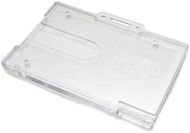 ID Card IT IDCHBUD-5 - Colgante de tarjetas de identificación, transparente