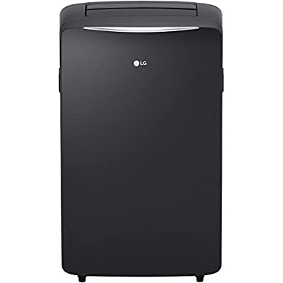 LG LP1417SHR 115V Portable Air Conditioner with Supplemental Heating in Graphite Gray for Rooms up to 400-Sq. Ft. (Certified Refurbished)