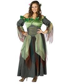 Mother Nature Adult (Plus) Costume - Plus (16-20W) (Women Haloween Costumes)