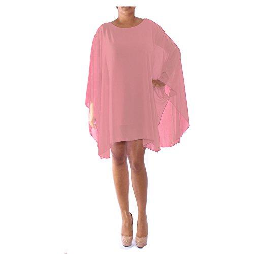 Candy Clothing - Camiseta de manga larga - para mujer melocotón