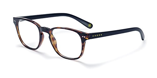 (Cross Oxford Reading Glasses, Ultra-Light Polycarbonate Readers for Men, 2.50)