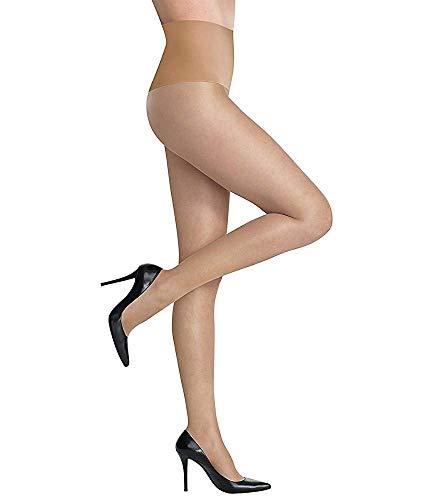 Princess Tights - Commando Women's The Keeper Sheer Tights, Medium Nude, Tan, Off White, Medium