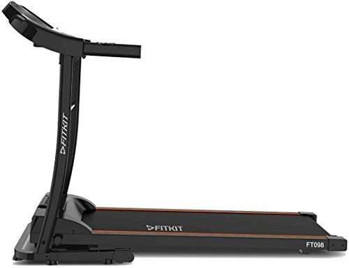 Fitkit FT098 Series (2 HP Peak) Motorized Treadmill with Free Dietitian,Personal Trainer, Doctor Consultation and Installation Services