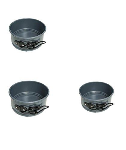 Kaiser Bakeware Noblesse Non-stick Mini Springform Pans  QTY 3