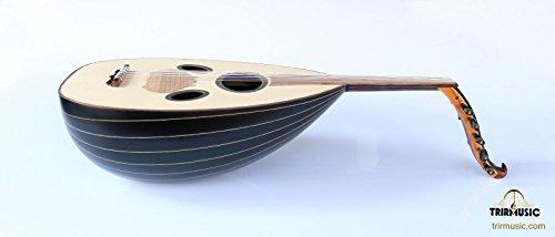 Syrian Quality Handmade Walnut String Instrument Oud Ud ASO-108M
