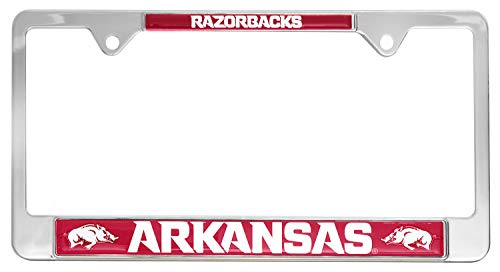 (All Metal NCAA Mascot License Plate Frame)