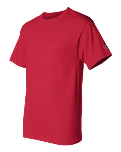 Champion T425 Adult Short-Sleeve T-Shirt Rot