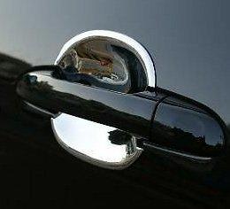 Accesorios para Renault Koleos cromo huecos rígida para manilla de puerta: Amazon.es: Coche y moto