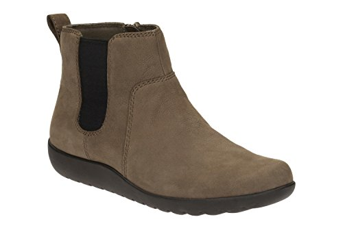 5 Clarks Confortable 7 Taupe Bottine Dark Medora Grace x88ROqwXB