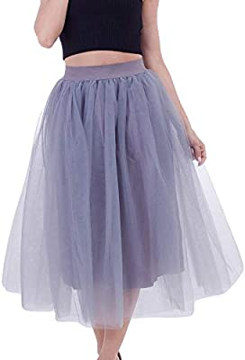 Falda de mujer Sunday, hasta la rodilla, vestido de encaje, falda ...