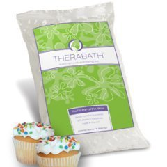 Vanilla Cupcake Therabath Wax Refill (Refill Paraffin Wax, box (6lb carton)) by Therabath Heat Therapy - Paraffin Heat Therapy