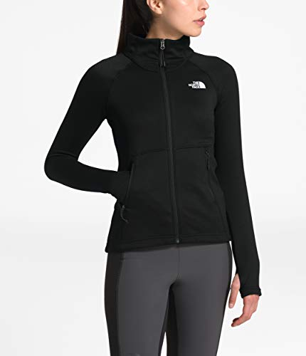 The North Face Women's Canyonlands Full Zip, TNF Black, S (Womens North Face Fleeces)
