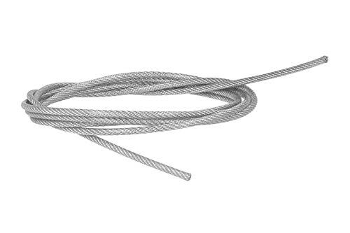Cavo acciaio filo elettrico con guaine di protezione per fissaggio