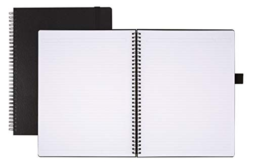 Office Depot Brand Hard Cover Premium Business Notebook, 8 1/2