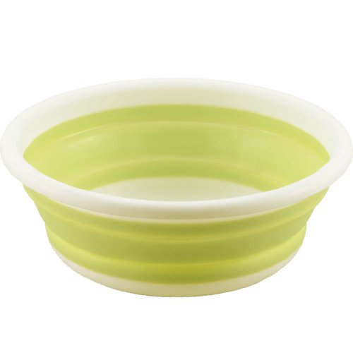 33cm Round wash tub folding Kakuse (japan import)
