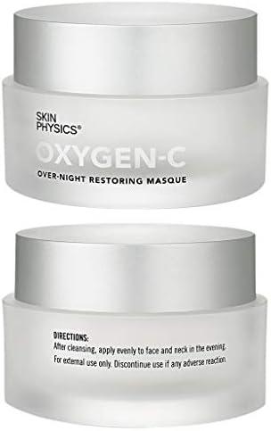 OXYGEN-C Firmas, tonos, elevaciones, contornos, luchas contra arrugas, rugosas, desiguales, complexión opaca, manchas oscuras, enrojecimiento y ...