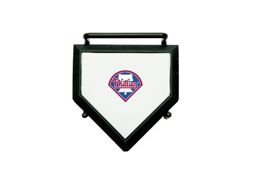 MLB Philadelphia Phillies Home Plate 4-pack Coaster Set - Mlb Com Phillies