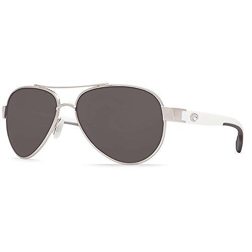 Costa Del Mar Loreto Sunglasses, Palladium, Gray 580P - Del Costa Like Mar Sunglasses