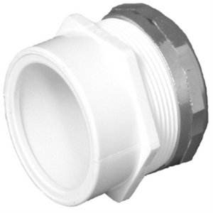 (Charlotte Pipe & Foundry Company 1-1/2 X 1-1/4 Pvc Male Trap Adapter Nut)
