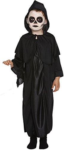 Henbrandt Childrens Grim Reaper Death Halloween Fancy Dress Costume Kid Outfit Age 10-12]()