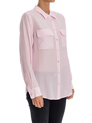 Q23e231pink Rosa Equipment Camisa Mujer Seda xYawqa1OF