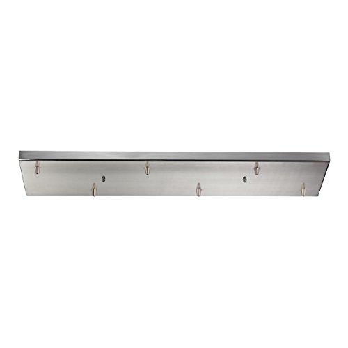 ELK Lighting 6RC-SN, Accessories 6 Light Rectangular Pan In Satin ()