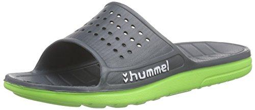 Hummel Sport Sandal, Chanclas Unisex Adulto Gris (Dark Slate 2482)