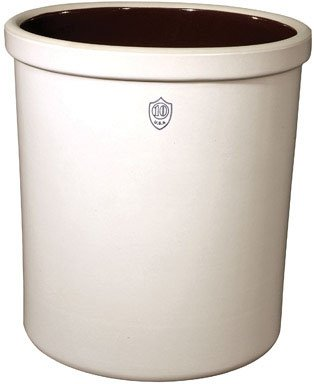 Ohio Stoneware Crock 10 Gal. 16-1/4'' Dia. X 17-1/4'' H Boxed by OHIO STONEWARE