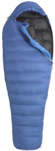 Marmot Women's Helium Down Sleeping Bag, Regular-Left, Blue, Outdoor Stuffs