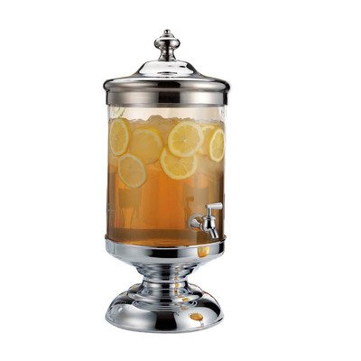Shannon Crystal 2.5 Gallon Roxborough Beverage Jar Dispenser with Spigot