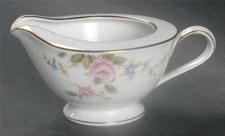 Noritake China FIRENZE Creamer - pink roses - 6674