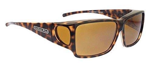 a81693570e9 Jonathan Paul Fitovers Large Orion Cheetah Polarized Yellow Sunglasses